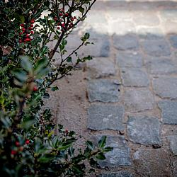 Natuursteenkeien, kasseien, porfier, graniet, 13x13