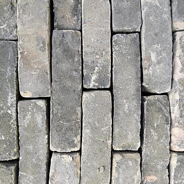 V54, Oude Gebakken Klinkers, Waalformaat, Geel-Brons