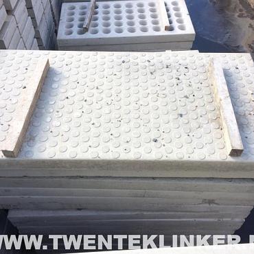 Industrie- / betonplaten, b keus, 200x100x12cm, anti slip