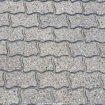 1000m2 gebruikte verbandstenen, sinusklinkers, 8cm, grijs wal