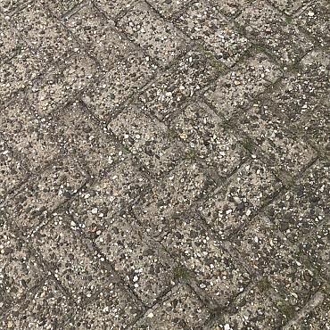 2999m2 betonklinkers, keiformaat, 8cm dik, grijs, dedemsvaart