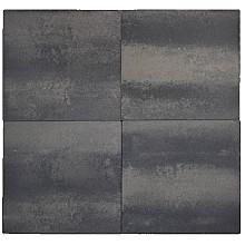 TerraTops 60x60x4,7 cm Grijs/Zwart