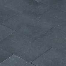 Vlakstone 30x20x6 cm Antraciet