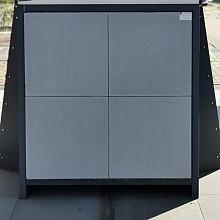 Terrastegels, Tegels 60x60x4 cm.