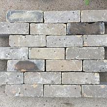 V53 B, Oude Gebakken Klinkers, Dikformaat, Geel-Brons