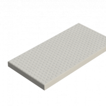 Betonplaat nop - Wap. E5 - 200X100X12 - BETONGRIJS