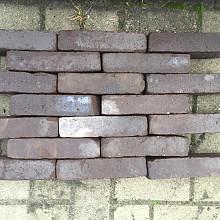 Ca. 7m² Gebakken Klinkers, Waalformaat, Bruin, P025