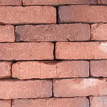 Ca. 8m² Gebakken Klinkers, Waalformaat, Rood-Bruin, P026