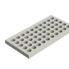 Betonplaat gras - Wap. D6 - 200X100X12 - BETONGRIJS