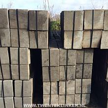 Gebruikte betontegels, 30x30cm, 4,5cm dik
